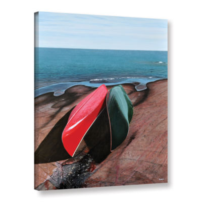 Brushstone After the Crossing Gallery Wrapped Canvas Wall Art