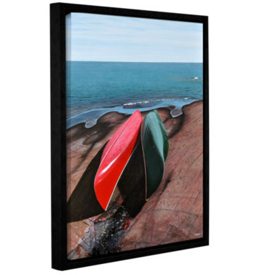 Brushstone After the Crossing Gallery Wrapped Floater-Framed Canvas Wall Art