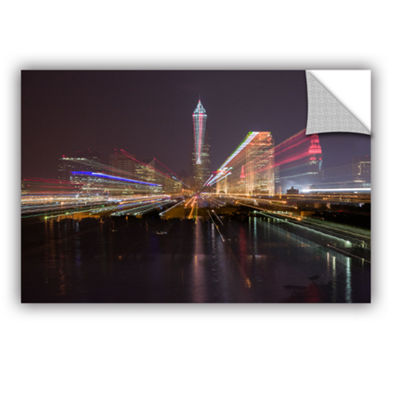 Brushstone Cleveland Skyline 13 Removable Wall Decal