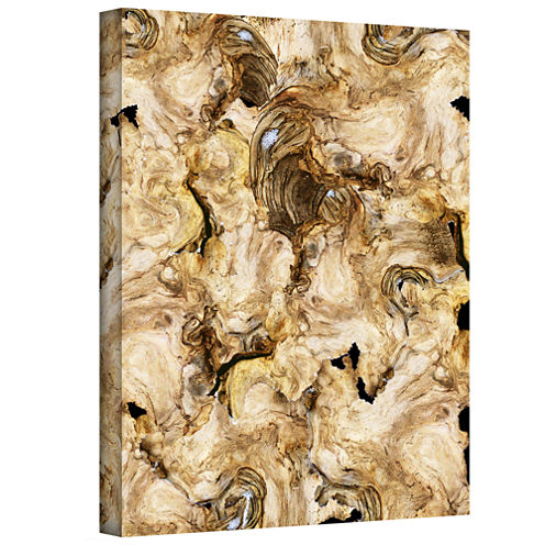 Brushstone Classical Deterioration Gallery Wrapped Canvas Wall Art