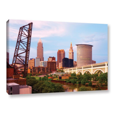 Brushstone Cleveland 10 Gallery Wrapped Canvas Wall Art