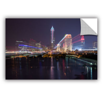 Brushstone Cleveland Skyline 14 Removable Wall Decal