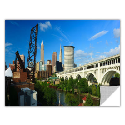 Brushstone Cleveland 11 Removable Wall Decal