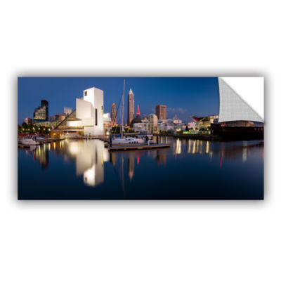 Brushstone Cleveland Skyline 2 Removable Wall Decal
