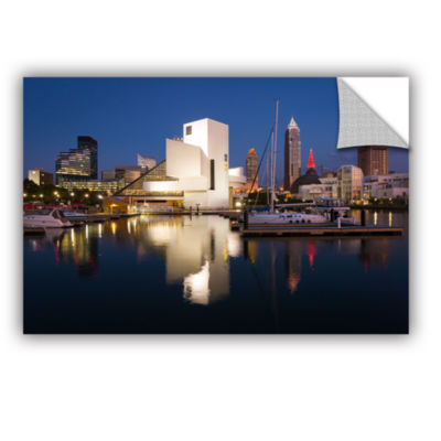 Brushstone Cleveland Skyline 3 Removable Wall Decal