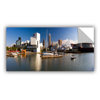 Brushstone Cleveland Skyline 4 Removable Wall Decal