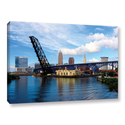 Brushstone Cleveland 12 Gallery Wrapped Canvas Wall Art