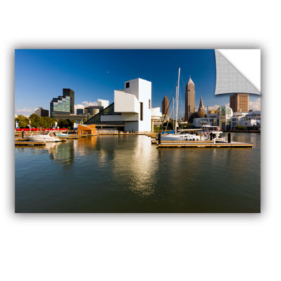 Brushstone Cleveland Skyline 5 Removable Wall Decal