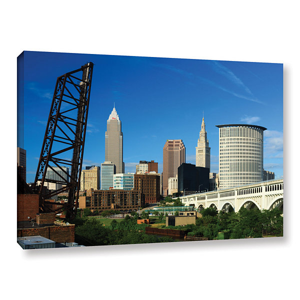 Brushstone Cleveland 13 Gallery Wrapped Canvas Wall Art