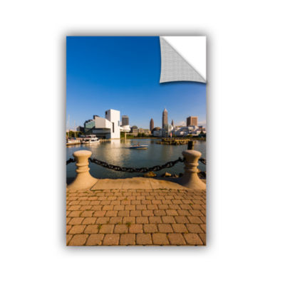 Brushstone Cleveland Skyline 6 Removable Wall Decal