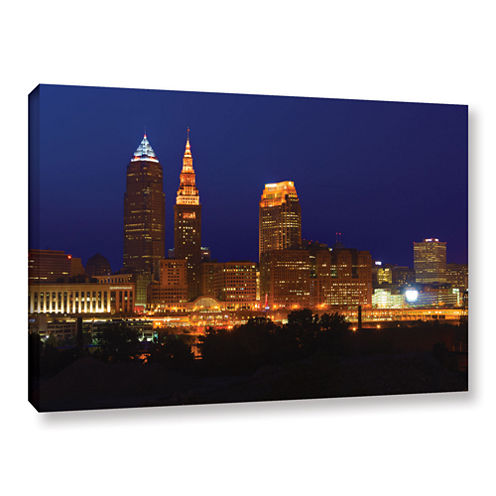 Brushstone Cleveland 15 Gallery Wrapped Canvas Wall Art