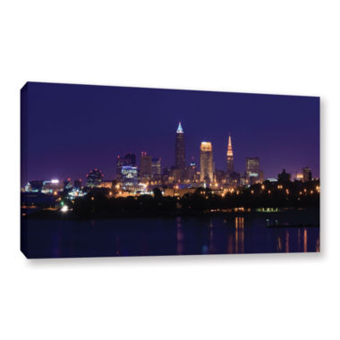 Brushstone Cleveland 16 Gallery Wrapped Canvas Wall Art