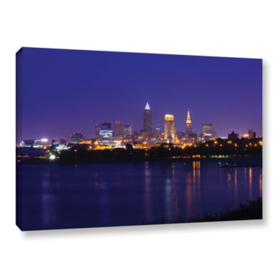 Brushstone Cleveland 18 Gallery Wrapped Canvas Wall Art