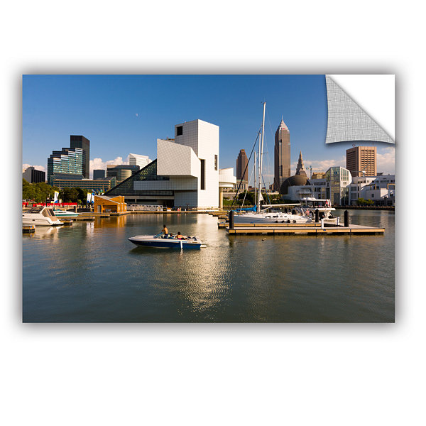 Brushstone Cleveland Skyline 7 Removable Wall Decal
