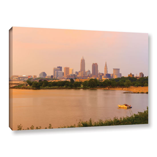 Brushstone Cleveland 19 Gallery Wrapped Canvas Wall Art