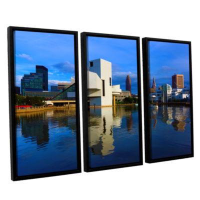Brushstone Cleveland 2 3-pc. Floater Framed CanvasWall Art