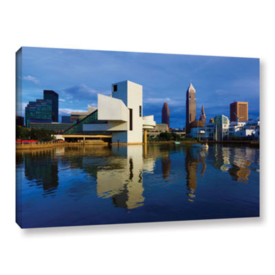 Brushstone Cleveland 2 Gallery Wrapped Canvas WallArt
