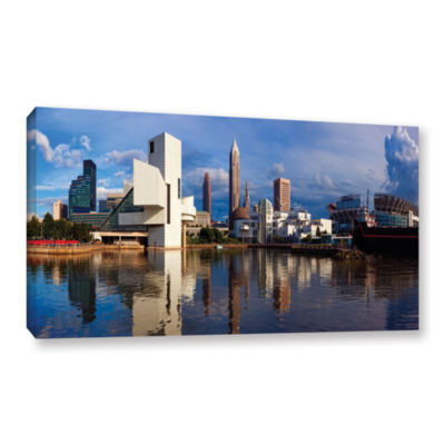Brushstone Cleveland 20 Gallery Wrapped Canvas Wall Art