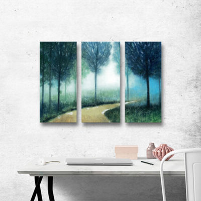 Brushstone Cleveland 21 3-pc. Gallery Wrapped Canvas Wall Art