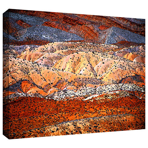 Brushstone Comb Ridge Gallery Wrapped Canvas WallArt