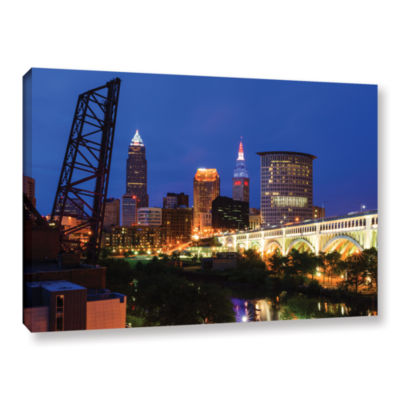 Brushstone Cleveland 21 Gallery Wrapped Canvas Wall Art