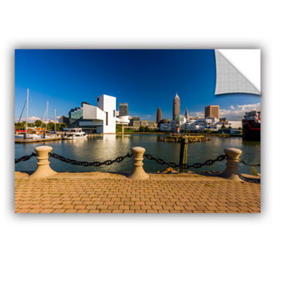 Brushstone Cleveland Skyline 8 Removable Wall Decal