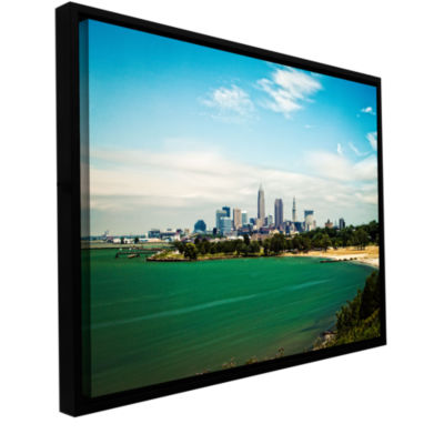 Brushstone Cleveland 22 Gallery Wrapped Floater-Framed Canvas Wall Art