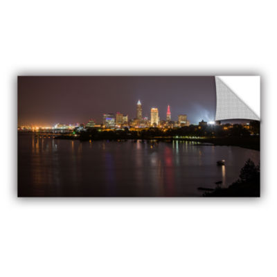 Brushstone Cleveland Skyline 9 Removable Wall Decal
