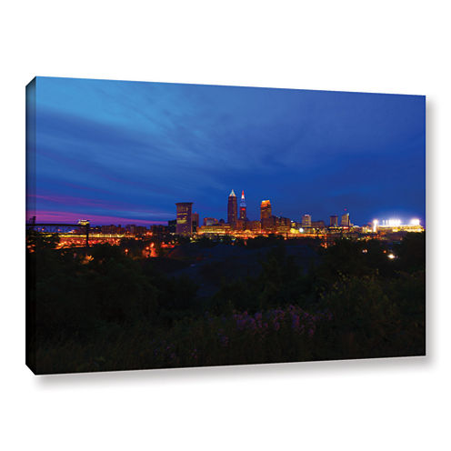 Brushstone Cleveland 3 Gallery Wrapped Canvas WallArt
