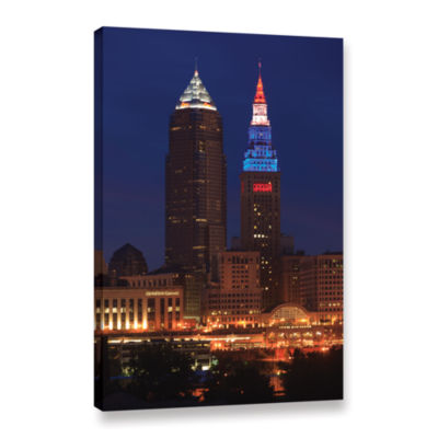 Brushstone Cleveland 4 Gallery Wrapped Canvas WallArt