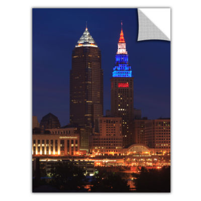 Brushstone Cleveland 4 Removable Wall Decal