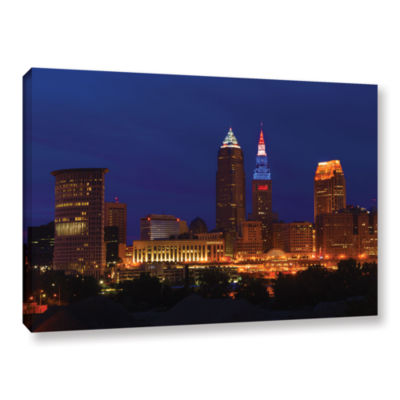 Brushstone Cleveland 5 Gallery Wrapped Canvas WallArt