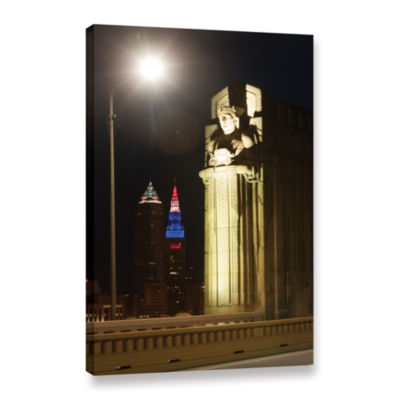 Brushstone Cleveland 6 Gallery Wrapped Canvas WallArt