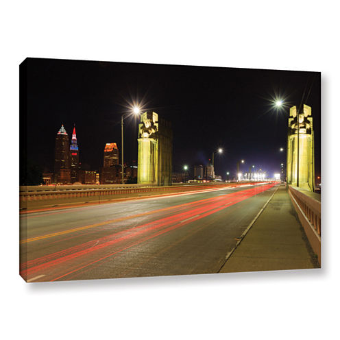Brushstone Cleveland 7 Gallery Wrapped Canvas WallArt