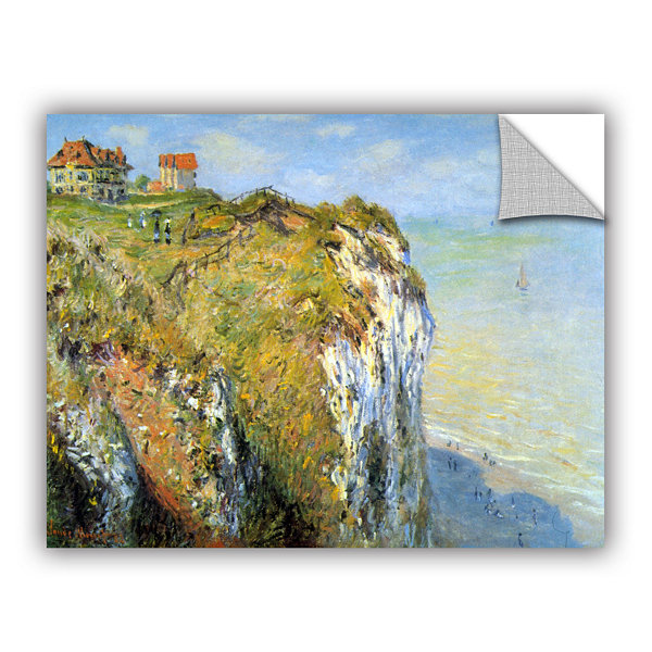 Brushstone Cliffs Removable Wall Decal