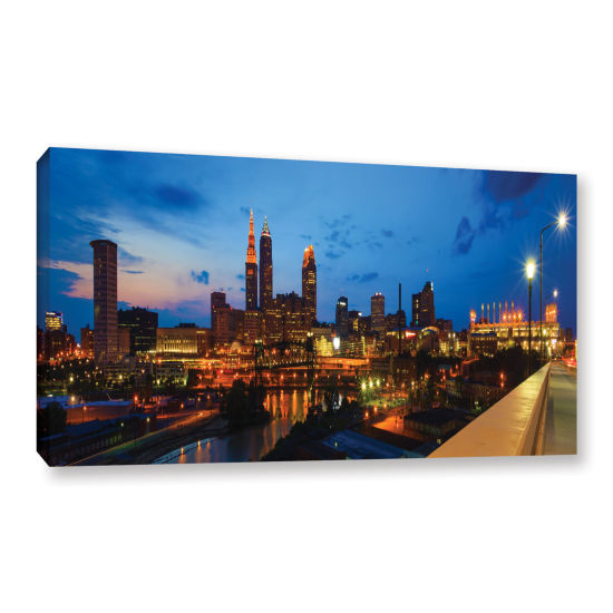 Brushstone Cleveland 8 Gallery Wrapped Canvas Wall Art