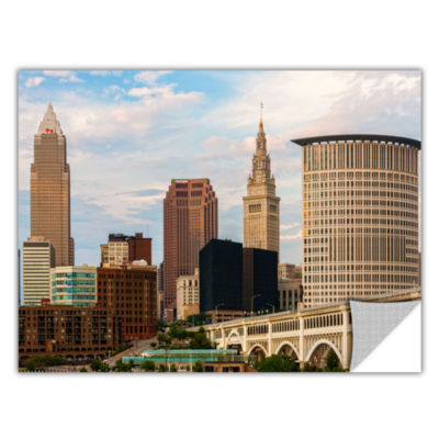 Brushstone Cleveland 9 Removable Wall Decal