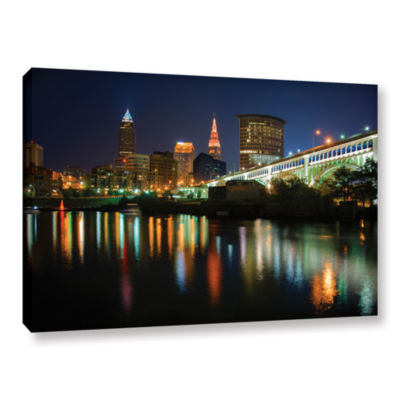 Brushstone Cleveland Gallery Wrapped Canvas Wall Art