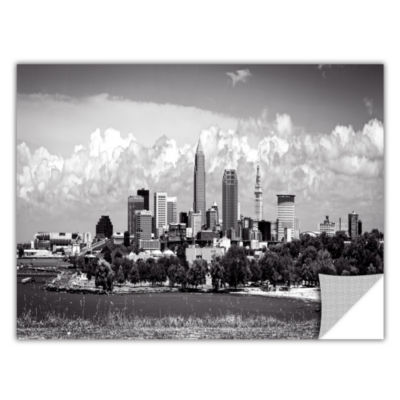Brushstone Cleveland Panorama 1 Removable Wall Decal