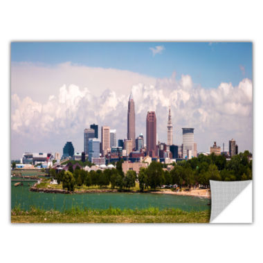 Brushstone Cleveland Panorama 2 Removable Wall Decal