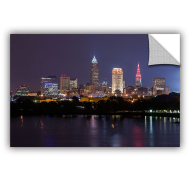 Brushstone Cleveland Skyline 10 Removable Wall Decal