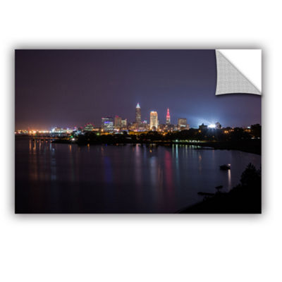 Brushstone Cleveland Skyline 12 Removable Wall Decal