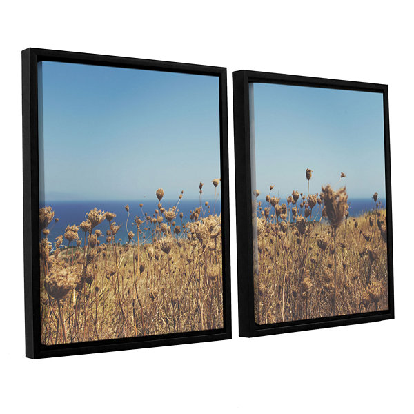 Brushstone Close Up Field 2-pc. Floater Framed Canvas Wall Art
