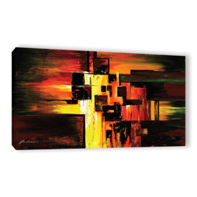 Brushstone Construct Gallery Wrapped Canvas Wall Art