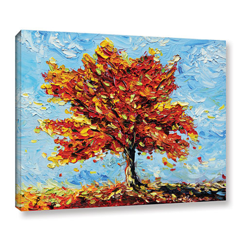 Brushstone Clothed With Joy Gallery Wrapped CanvasWall Art