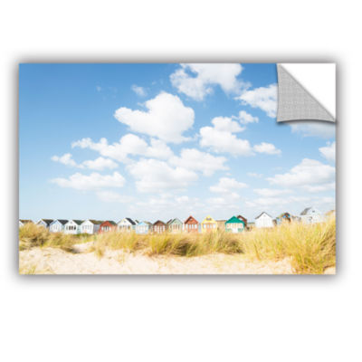 Brushstone Cloudhuts01 Removable Wall Decal