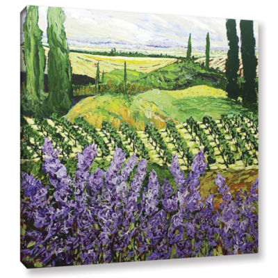 Brushstone Chinaberry Hill Gallery Wrapped Canvas Wall Art