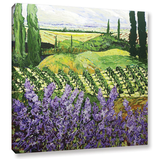 Brushstone Chinaberry Hill Gallery Wrapped CanvasWall Art