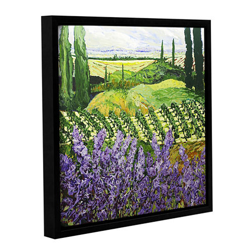Brushstone Chinaberry Hill Gallery Wrapped Floater-Framed Canvas Wall Art
