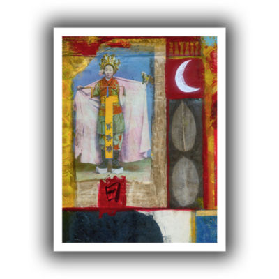 Brushstone Chinese Moon Queen Canvas Wall Art